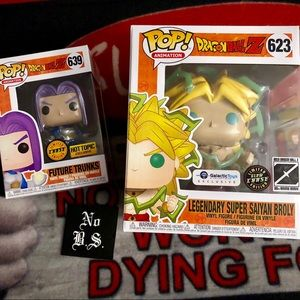 Funko Broly Chase Future Trunks Pop new